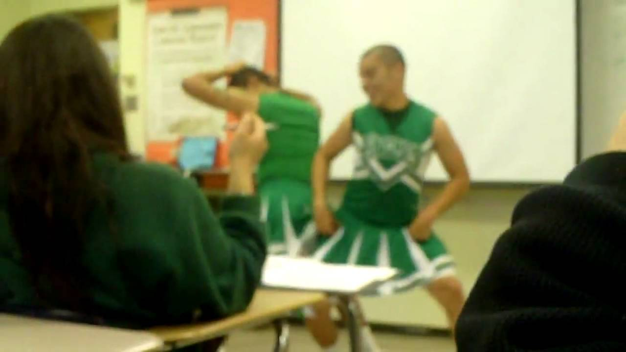 Guys In Cheerleading Outfits Youtube