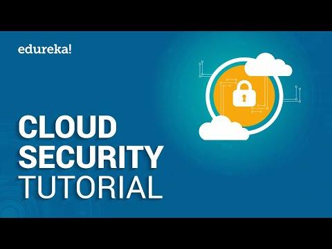 Cloud Security Tutorial | Cloud Security Fundamentals | What is Cloud Security | Edureka