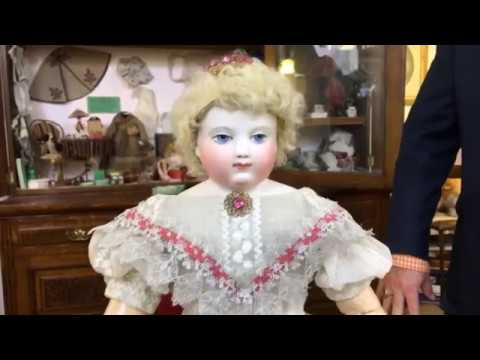 'Lucie Huret' Seminar for Doll Week with Michael Canadas at The Grovian Doll Museum