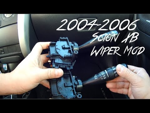 Scion xB Wiper Stalk Switch Replacement Intermittent Speed mod First gen 2004 2006