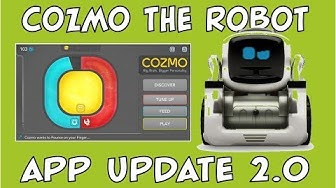 Cozmo the Robot | Major App Update | Episode #58 | #cozmoments