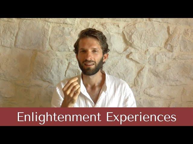 Enlightenment Experiences vs Enlightenment Consciousness