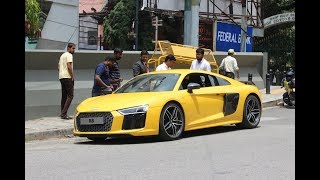 2017 Audi R8 V10 Getting Delivered | Bangalore, India
