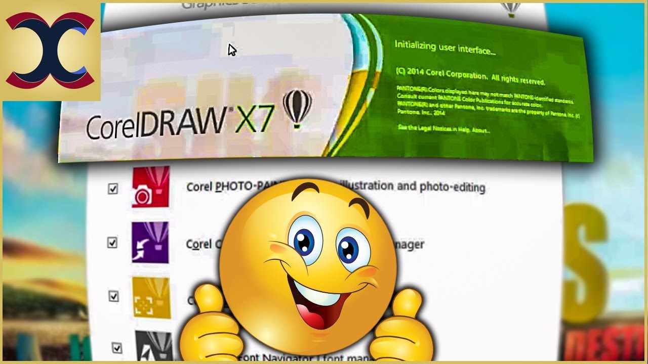How To Install Corel Draw X7 Full Version Youtube