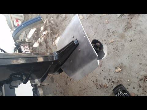 Outboard motor hydrofoil do they work funnycat tv for Fin for boat motor