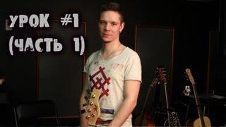 show MONICA Bass Guitar - Постановка правой руки (Урок #1 часть 1)