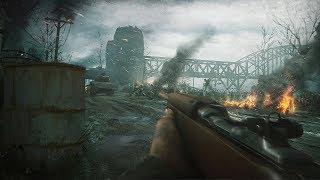 Call of Duty WW2 - The Rhine Mission Gameplay Veteran