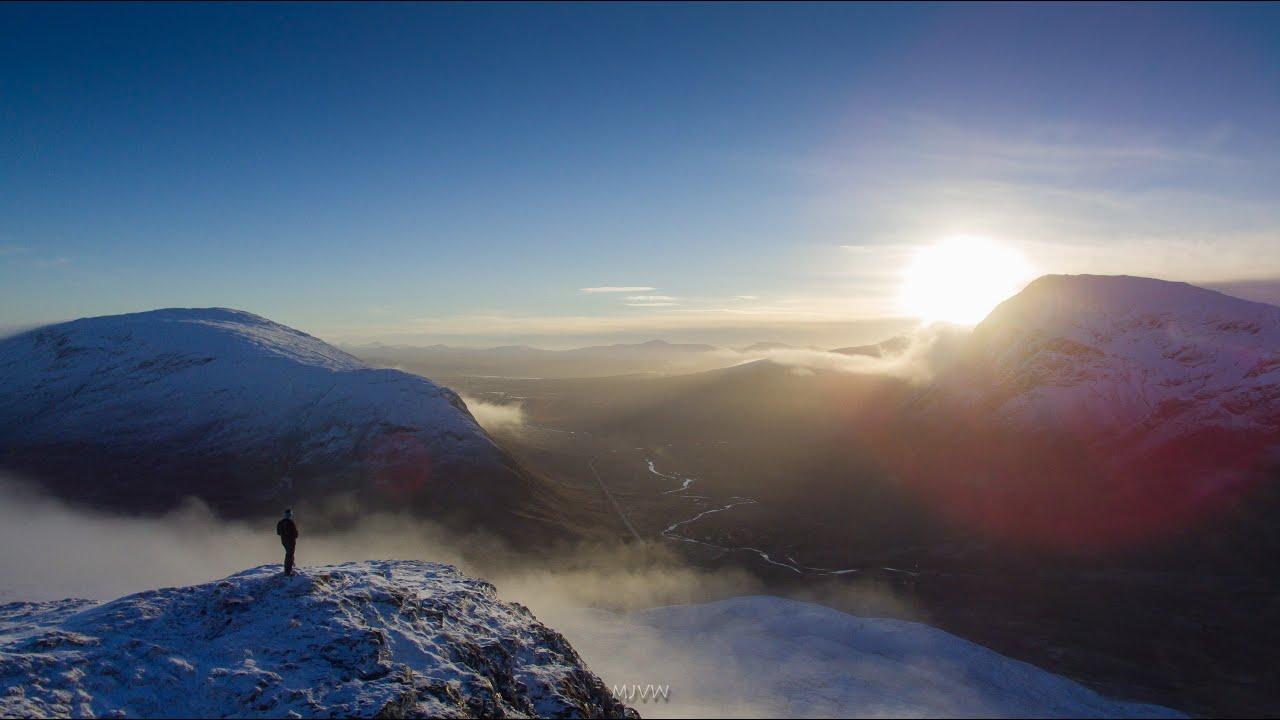 Winter Returns To Glencoe