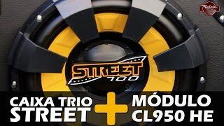 Caixa Trio com Spyder Street + Módulo Stetsom CL950 HE na Reich Store