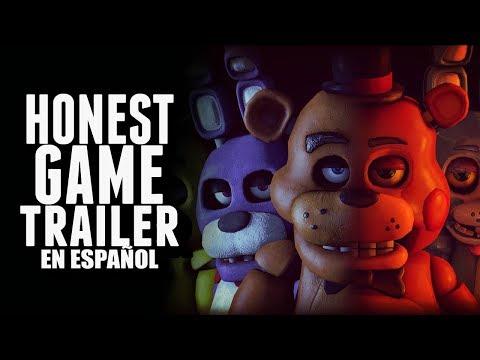 FIVE NIGHTS AT FREDDYS ULTIMATE CUSTOM NIGHT Honest Game Trailers en Español