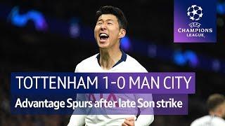 Tottenham vs Manchester City (1-0) | UEFA Champions League Highlights