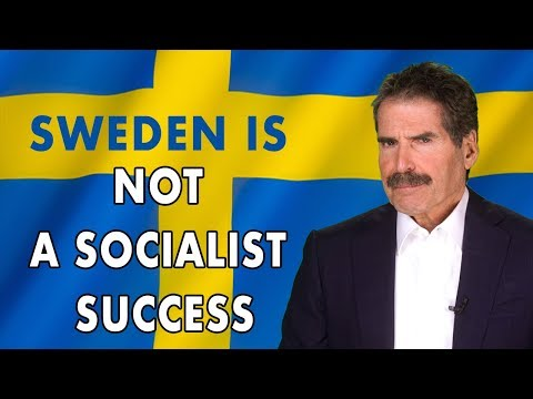 The Jay Weber Show - Stossel: Sweden is Not a Socialist Success