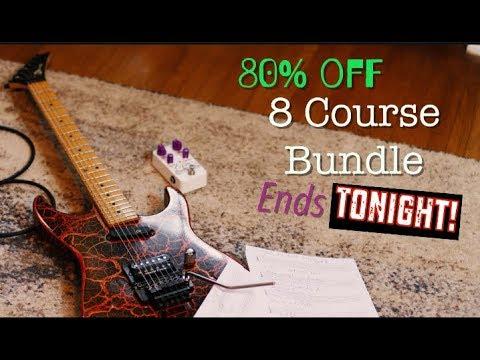 80% Off 8 Course Bundle Sale Ends Tonight!