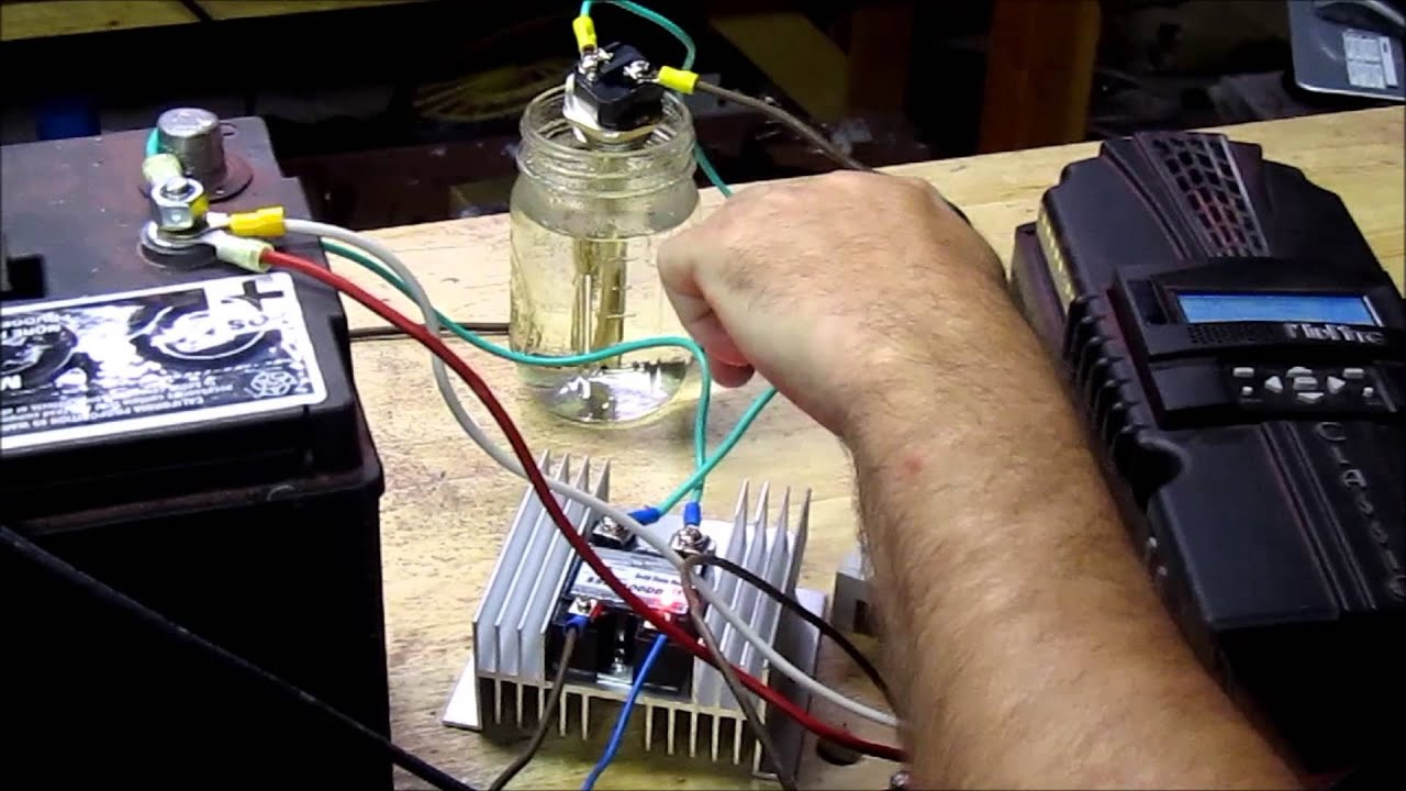 Solar Mmpt Charging Dc Hot Water Heating Dc Youtube