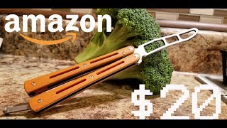$20 Amazon Balisong Trainer. Best Cheap Butterfly knife trainer. Toptens