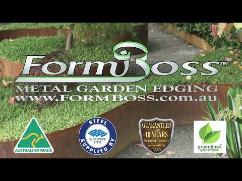 Installing Formboss Edging