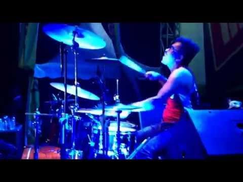 Seventeen - Bukan Main Main (drums perform) di Tanjung Enim Sumsel