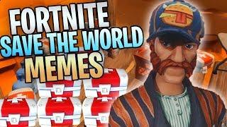 My Best Fortnite Save The World Memes And Intros ( ͡° ͜ʖ ͡°)