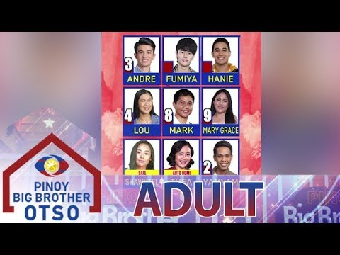 6th Adult Nomination Night Official Tally Of Votes | Day 62 | PBB OTSO