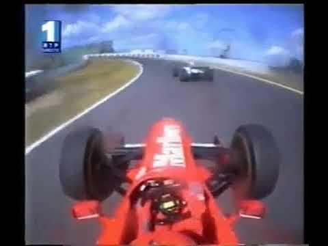 Best Pass in F1 History - Eddie Irvine - Suzuka 1997