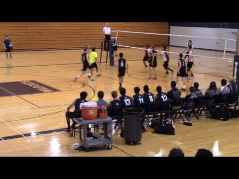 Elgin VS. West Chicago Boys Volleyball 2/2 May 2017