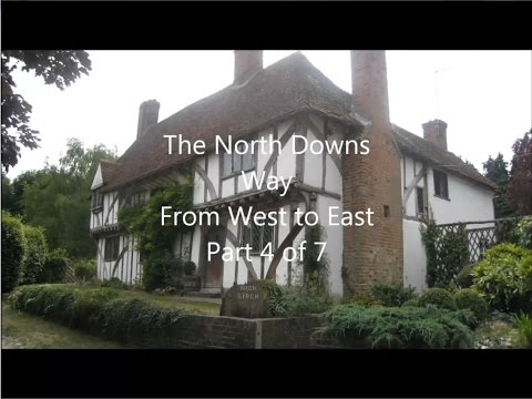 North Downs Way, West to East, Part 4 of 7 - Snodland to Lenham