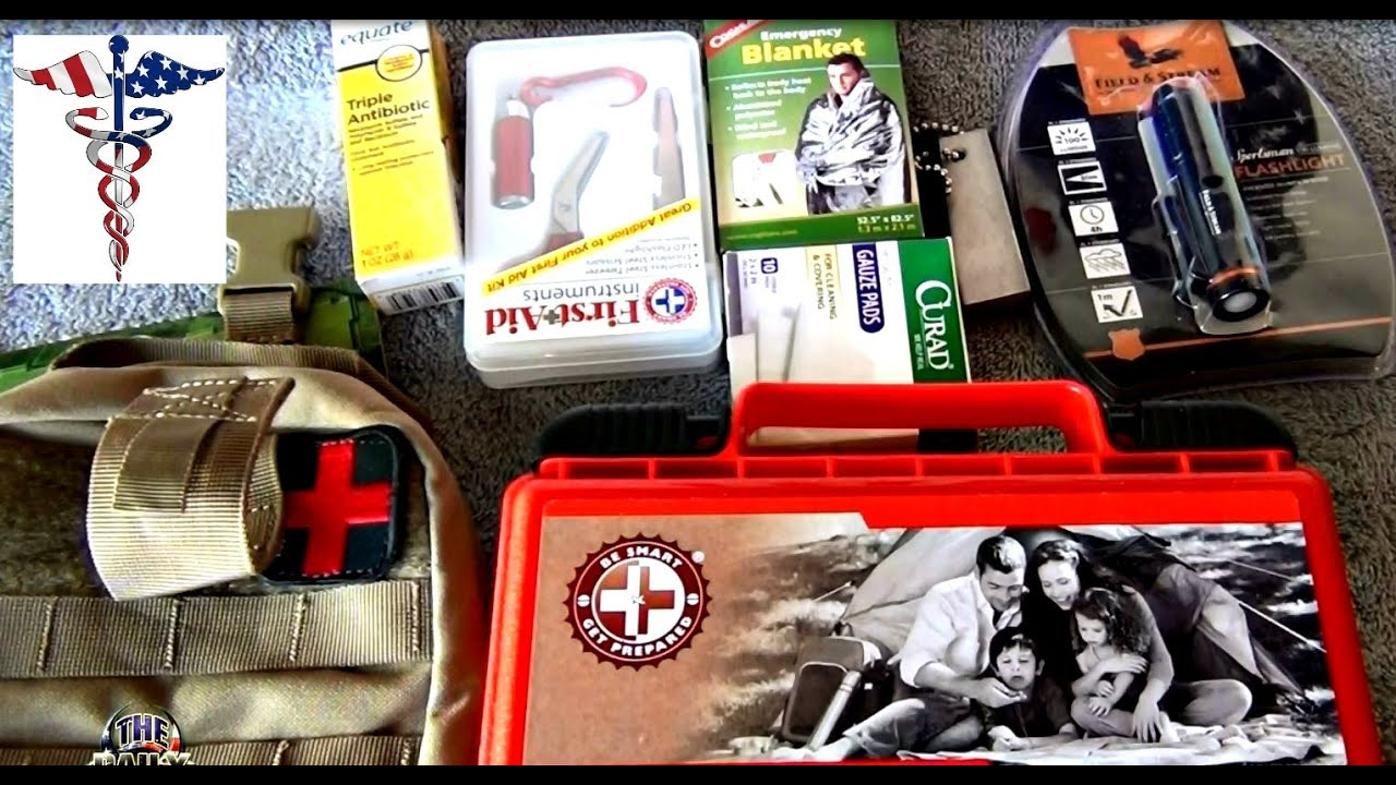 First Aid Kit for Shooters on a budget with Condor