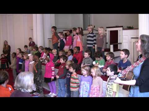 Montessori In Town - Thanksgiving Performance 2012