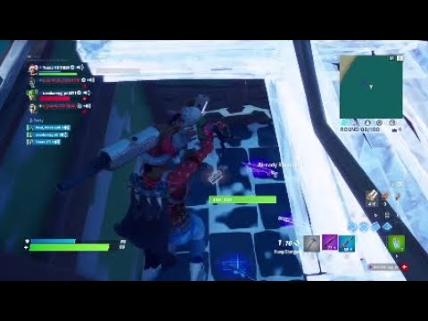 So I Boxed Fight Some Randoms And They Were Toxic!!(4v4 Box Wars Gets Heated)