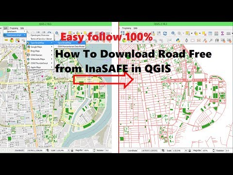 Download data free from inasafe   Download OSM Data to shapefile QGIS   Downloading OpenStreetMap
