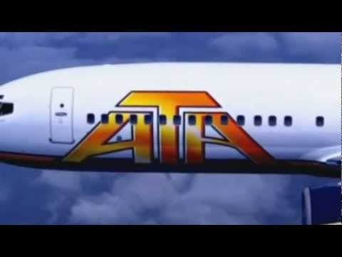 ATA Airlines L-1011 Safety Video and American Trans Air Television Commercial
