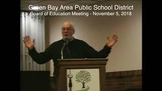 GBAPSD Board of Education Meeting: November 5, 2018