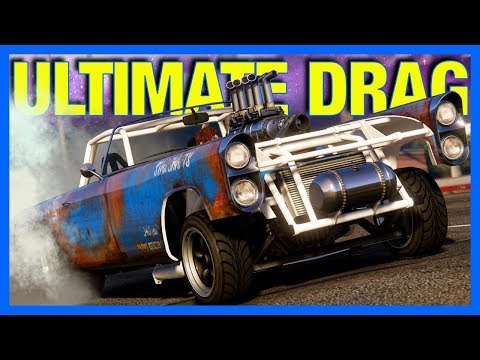 GTA 5 Online Casino : ULTIMATE DRAG CAR!! (GTA Online Peyote Gasser)
