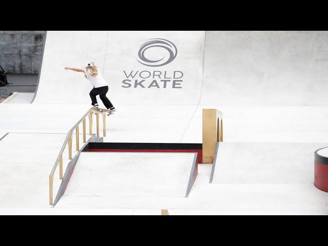 Street Skateboarding World Championships - Rome - Women's Preseeded Practice - Day 4