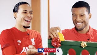 VIRGIL VAN DIJK VS GINI WIJNALDUM | Christmas Connect 4 🎲