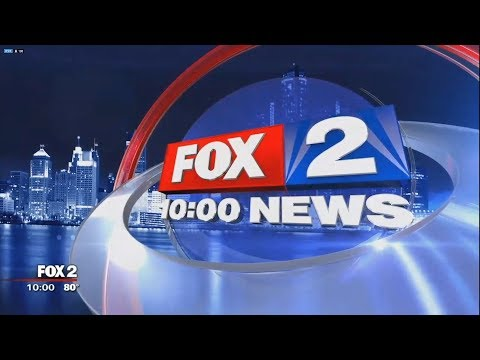 WJBK FOX 2 News at 10pm Open June 28, 2018
