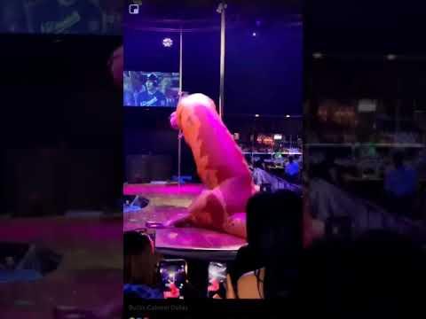 Aimee - T-Rex Shakes His Money Maker at Strip Club