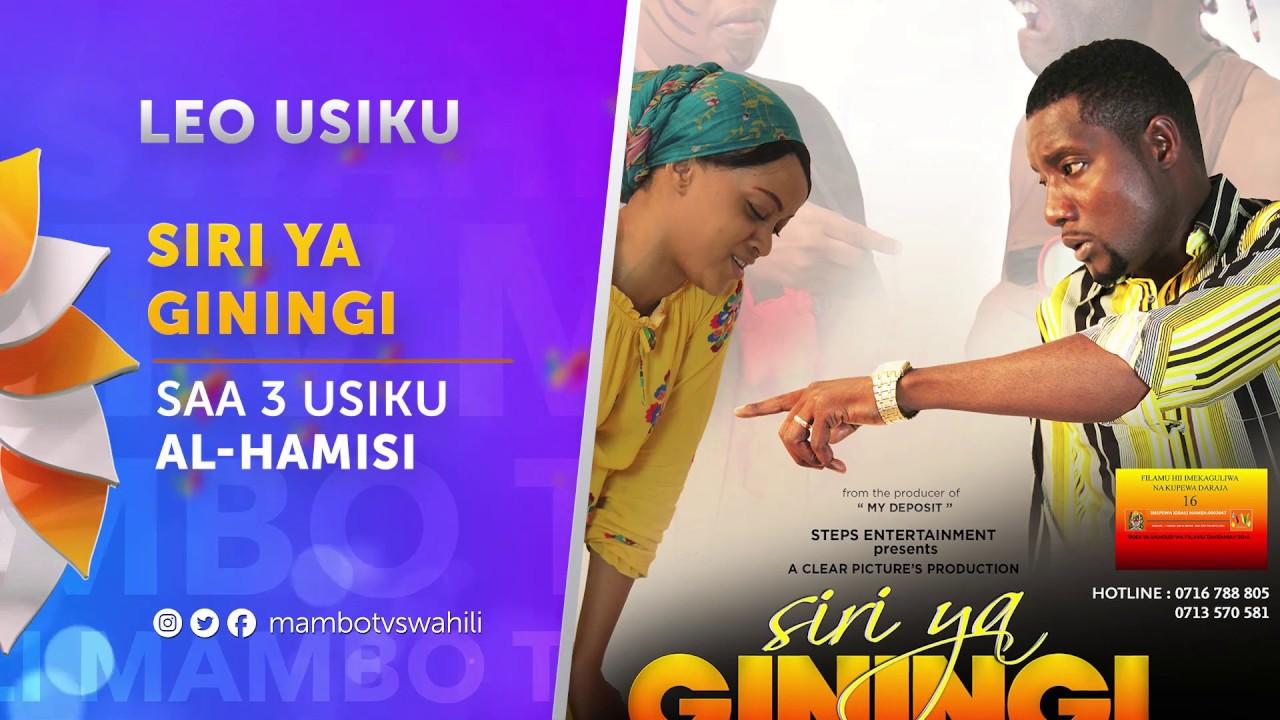 Download Filamu ya Leo SIRI YA GININGI