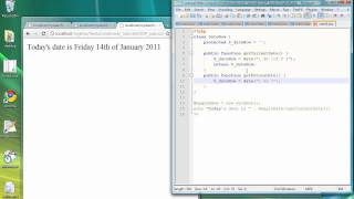 Object Oriented PHP Programming - Lesson 2 - Creating Classes and Methods 2nd example