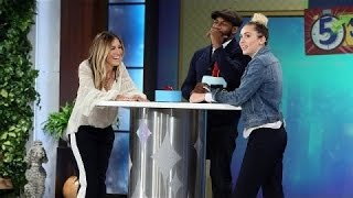 5 Second Rule with Miley Cyrus and Sarah Jessica Parker - TV SHOW KING