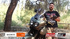 Custom Triumph Tiger 955i  by MOTO & BIKE TV