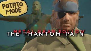 We Liquefy Metal Gear Solid V's Graphics | Potato Mode