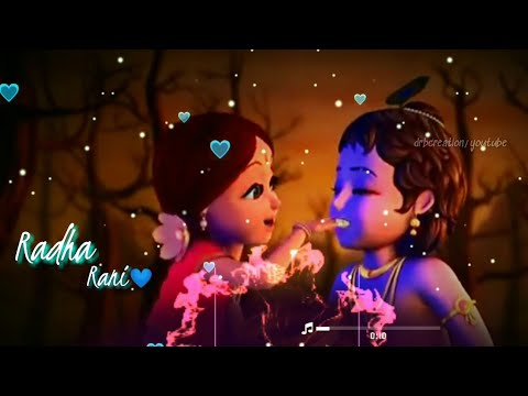 Shyam Ki Diwani Radha Rani Nache Dj Remix Status  Bass Boosted Radha Krishna Love Status
