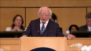 President Higgins delivers keynote address at ILO World of Work Summit, Geneva thumbnail