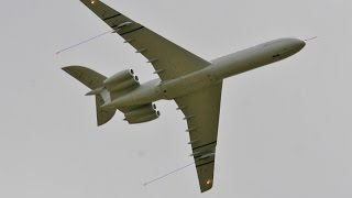 Onboard Cams On Giant Scale Vickers Vc-10 At Lma Raf Cosford Rc Model Aircraft Show - 2014