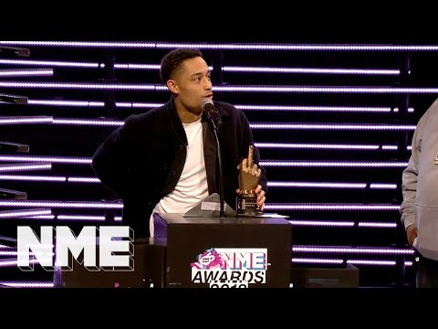 Loyle Carner wins Best British Solo Artist supported by VO5 | VO5 NME Awards 2018