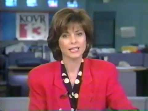 KXTV and KOVR 1997 Sacramento Flood Live News Coverage