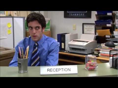 The Office - Michael's Creepy Stare At Ryan