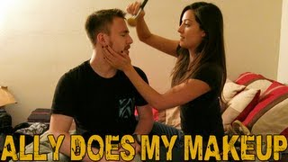 My Girlfriend Does My Makeup