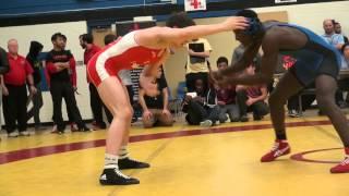 2014 Matmen Classic FS69kg Alex Moore (Montreal) vs Amanie McLaren (Mariposa)